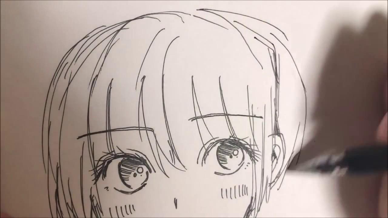 Dạy vẽ nhân vật hoạt hình – anime phần 8 – khuôn mặt tươi vui