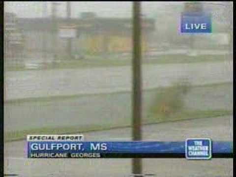 TWC Hurricane Georges coverage 1998
