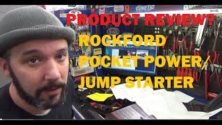 PRODUCT REVIEW: Rockford Pocket Power Jump Starter  RFDPPJS2976DLX