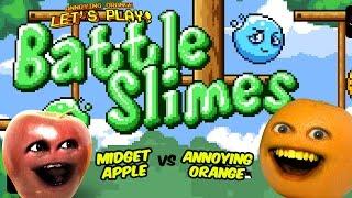Annoying Orange Let's Play - BATTLE SLIMES