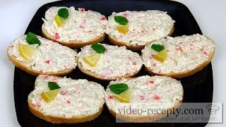 Crab spread - video recipe