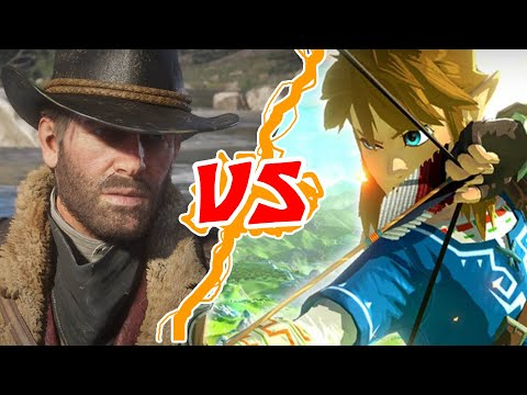 COOSA?! ZELDA VS RED DEAD REDEMPTION 2