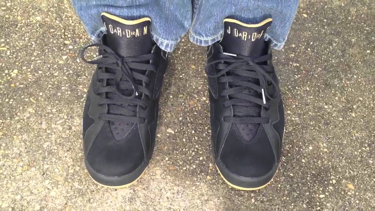 save off c06e8 4f693 ... buy air jordan 7 vii retro golden moment pack gmp on feet 38d97 1b3e2
