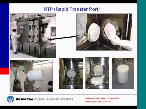 High Containment Solutions Processing Pharmaceutical Powders