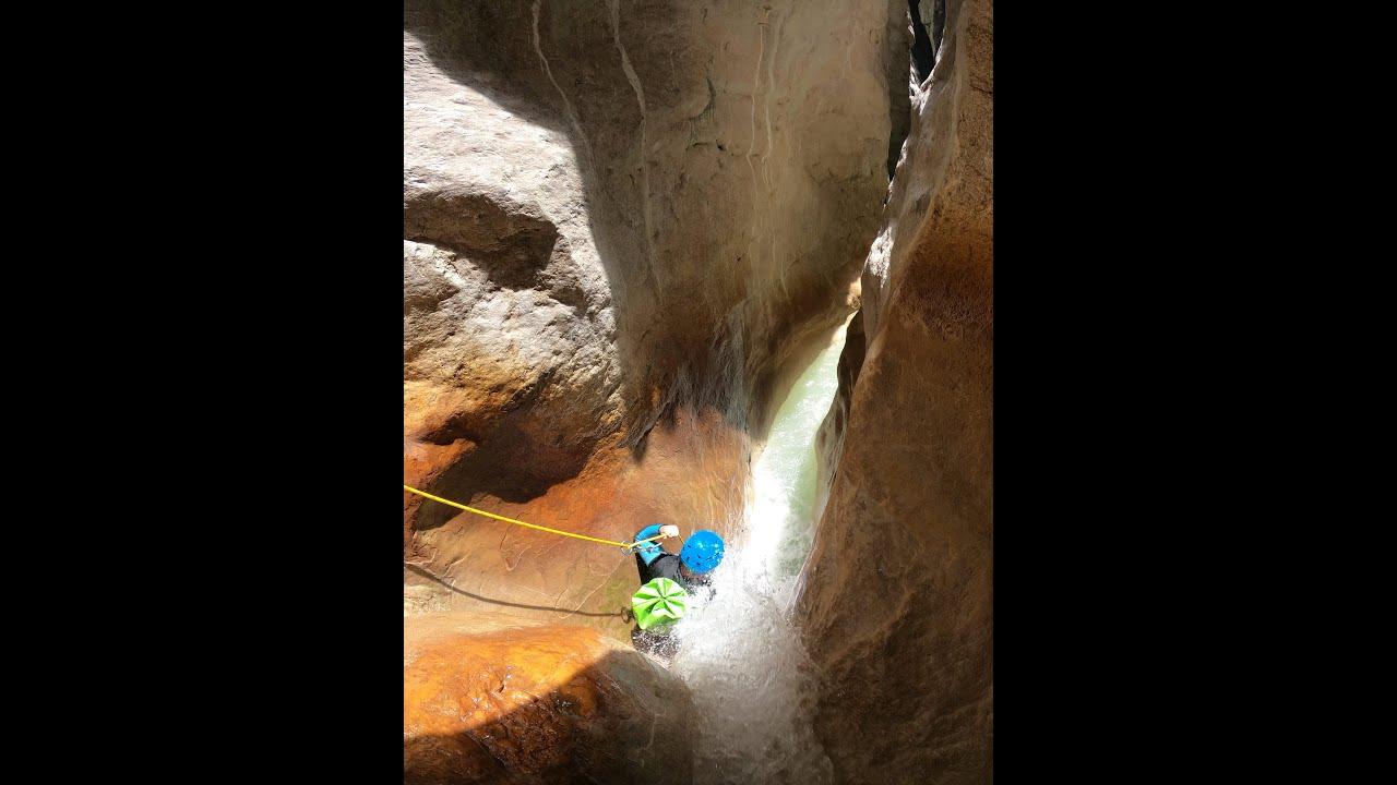 Vidéo du canyon de Riolan