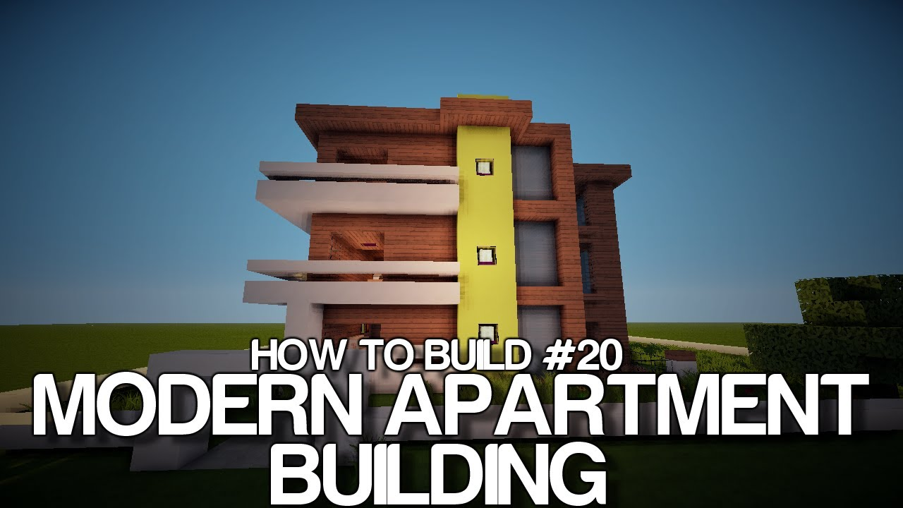 How To Build #20   Modern Hotel/Apartment Building   YouTube