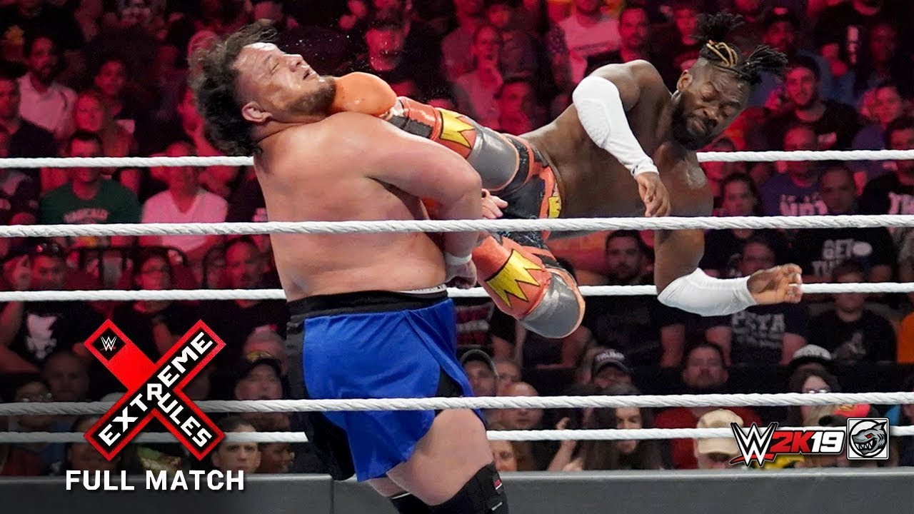 Download FULL MATCH - Samoa Joe vs. Kofi Kingston - WWE Championship : WWE Extreme Rules (2019)
