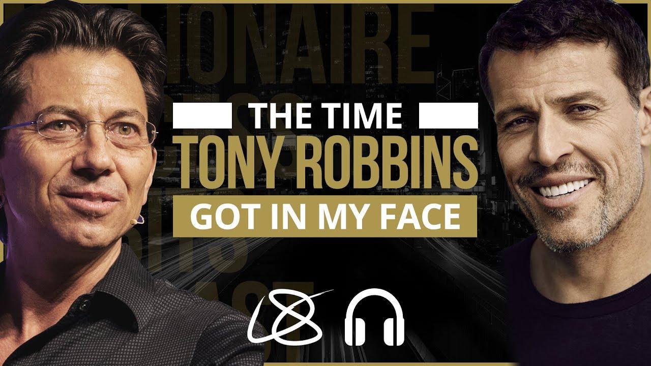 Tony Robbins Got In My Face