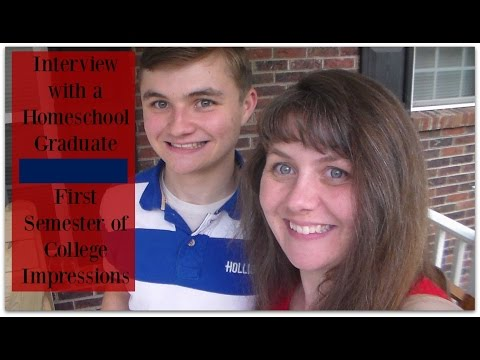 Interview with a Homeschool Graduate: First Semester of College Impressions
