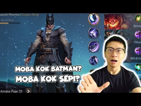 Kenapa NAMANYA MOBA KOK BATMAN? - AOV Indonesia