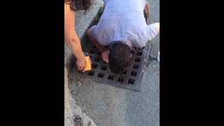 How to retrieve your keys from the sewer