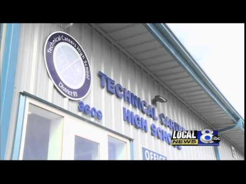 Technical Careers High School holds open house