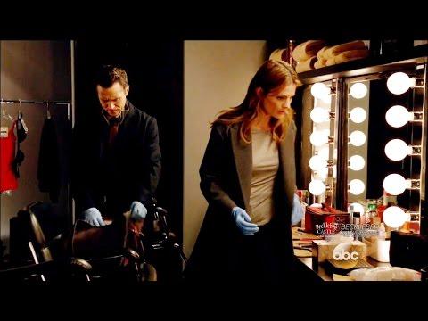 "Castle 8x09 Beckett Tells Ryan She's Dating a Dr Livingstone ""Tone Death"" Season 8 Episode 9"