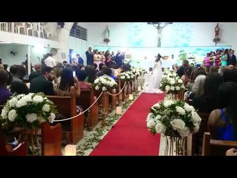 Cerimônia Linda, Casamento na Igreja.