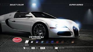 NFS Hot Pursuit | Bugatti Veyron 16.4 Grand Sport [HD1080p 60FPS]