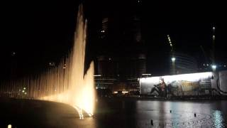Фонтан в Дубае(, 2014-10-07T12:44:10.000Z)