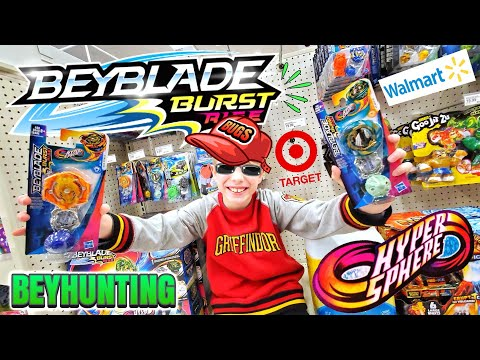 FINALLY! Beyblade Burst Rise Toy Hunting At Target & Walmart - Beyhunting