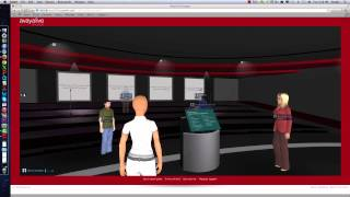 Virtual Teaching & Conference Option Using AvayaLive Engage by V. Outlaw, P. Whitaker, & K. Kellison