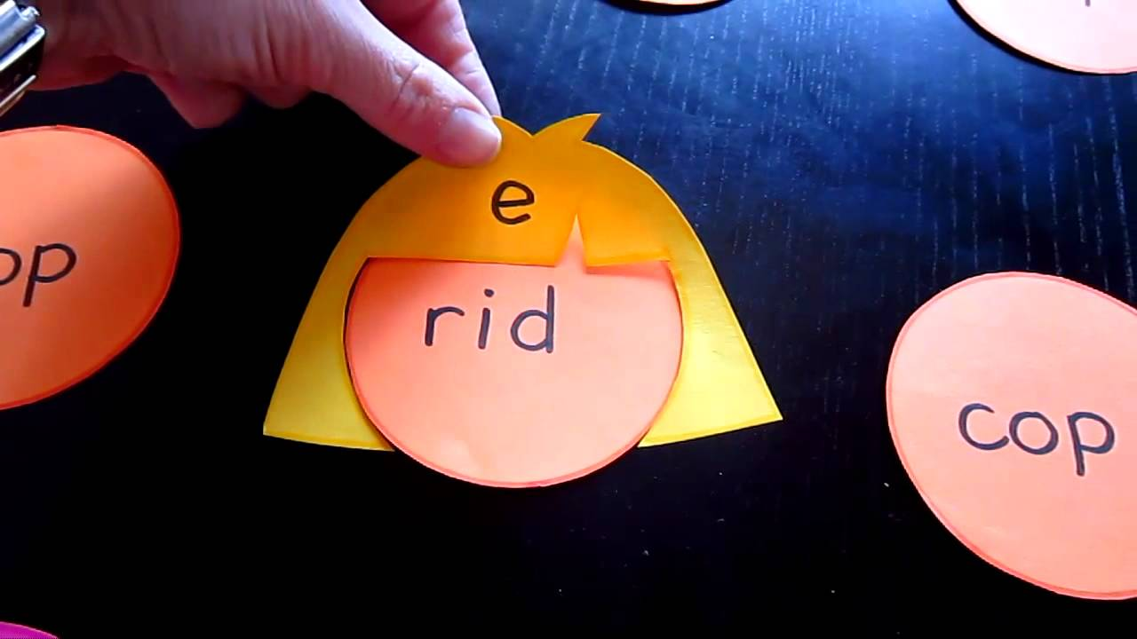 Preschool Long Vowel Sounds By Adding Silent Quot E Quot Youtube