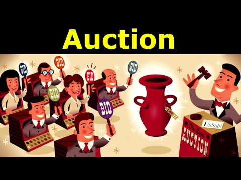 Main Auction types and its history in just 2 minutes!