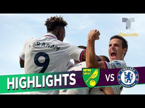 Norwich City vs. Chelsea: 2-3 Goals & Highlights | Premier League | Telemundo Deportes