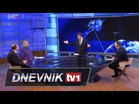 Burno u emisiji na HRT: Raspudić, Klasić, Sidran