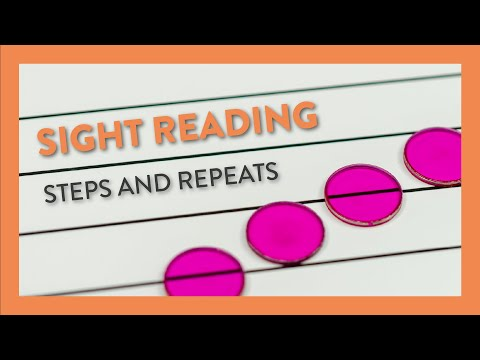 Sight Reading: Steps & Repeats - Piano Lesson 44 - Hoffman Academy
