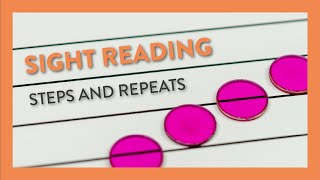 Sight Reading: Steps & Repeats - Piano Lesson 45 - Hoffman Academy
