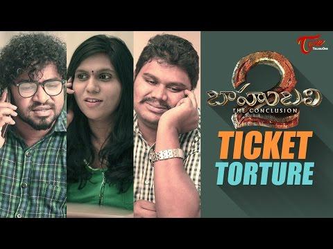 Baahubali Ticket Torture    By Fun Bucket Team    Comedy Skit