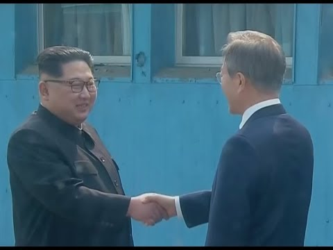 Encuentro histórico entre las dos Coreas