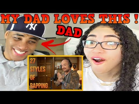 MAC LETHAL 27 Styles of Rapping REACTION | MY DAD REACTS