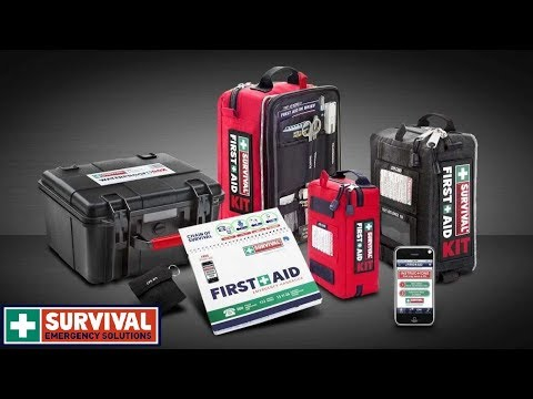 Survival Emergency Solutions, first aid kit Review. GU Patrol