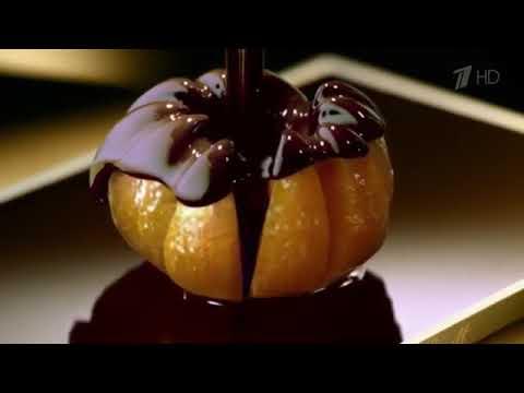 Реклама Lindt   Горький шоколад с апельсином   Март 2018