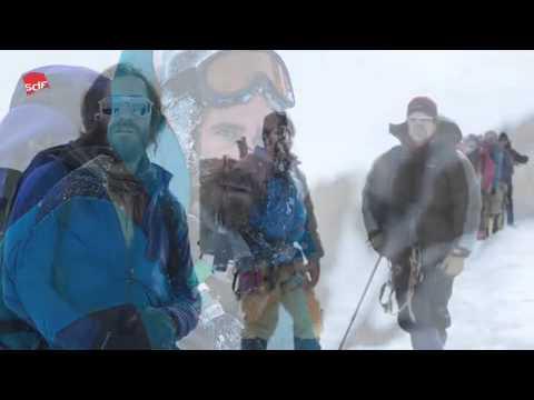 Die Premiere des Bergsteiger Drama Everest im Schnalstal