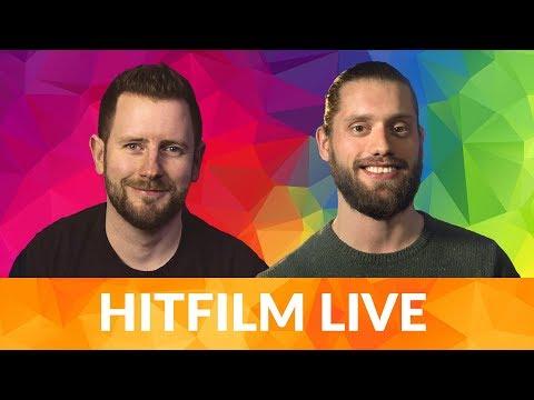 Low budget film making, VidCon news & HitFilm January Sale | HitFilm Live Q&A