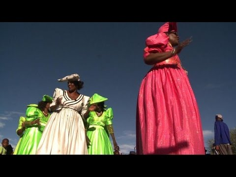 At a Herero wedding in Namibia, a century-old tradition on show
