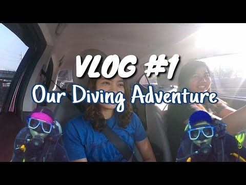 First ever vlog and our diving adventures