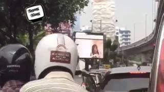 Parah, Billboard di Depan Kantor Walikota Jaksel Tampilkan Video XXXX
