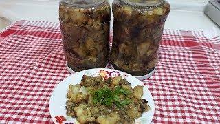 patlıcan közlemesi konservesi / patlıcan közlemesi nasıl saklanır?