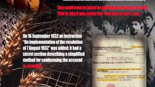 Holodomor (English) The Original Holocaust *Ukraine 1932 - 1933