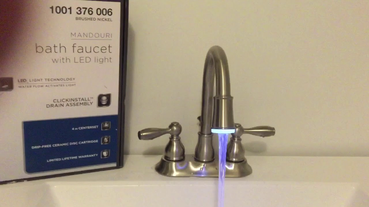 led faucet youtube