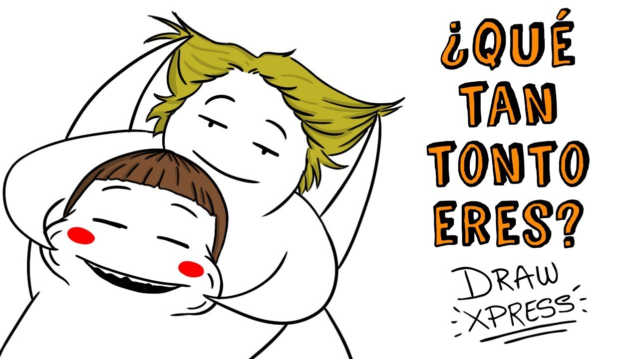 ¿QUÉ TAN TONTO ERES? TEST DE INTELIGENCIA  | Draw My Life #tiktaktest
