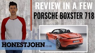 Car review in a few | 718 Porsche Boxster 2018 - absolute four-cylinder LOLs