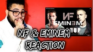 NF & Eminem Mashup  * THIS WAS NICE*   REACTION & THOUGHTS | JAYVISIONS