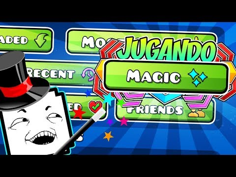 ¡NUEVOS NIVELES MAS RAROS DEL MAGIC! | GEOMETRY DASH | VRO