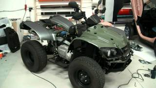 ATV Folierung Car Wrapping time lapse
