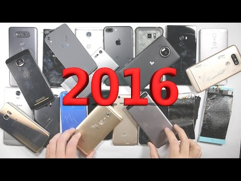 Most Durable Smartphone of 2016 - Year End Summary Awards - 동영상