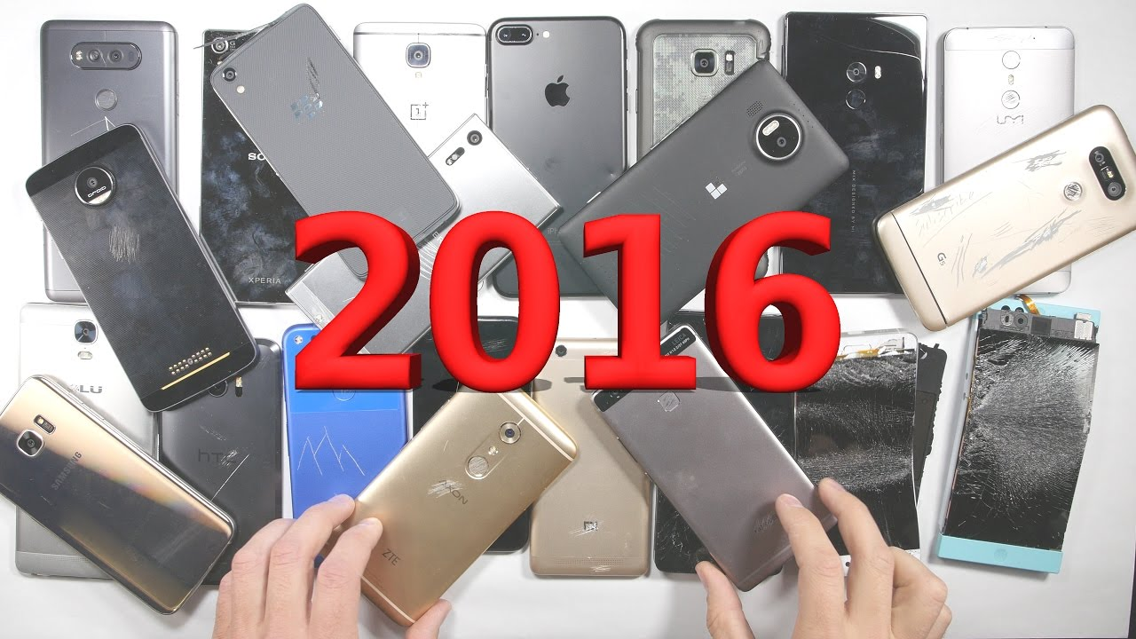 Most Durable Smartphone Of 2016 Year End Summary Awards
