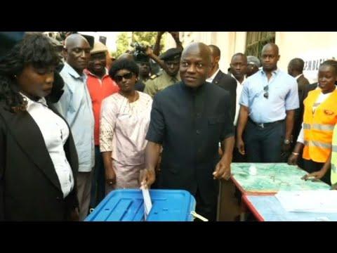 Le président de Guinée-Bissau vote pour les législatives