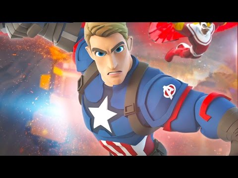 CAPTAIN AMERICA Cartoon Games for Kids DISNEY INFINITY 3.0 Superhero Videos for Kids